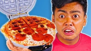 10 Foods You Can Waffle Hack - Experiment