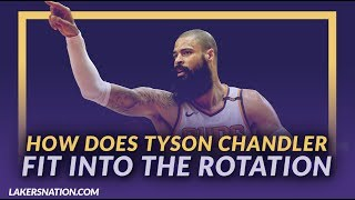 Lakers News Feed: How Does Tyson Chandler Fit Into the Lakers Rotation?