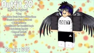 10 Awesome Roblox Outfits Xemika