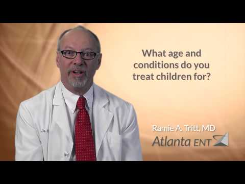 What age and conditions do you treat children for?