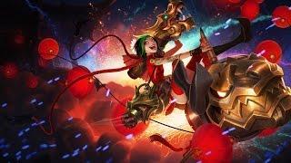 Jinx Fogos de Artificios - League of Legends (Completo BR)