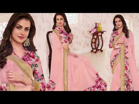 Latest Indian Sarees Online | Simple Saree Blouse Designs & New Party Wear Sarees Designs Collection
