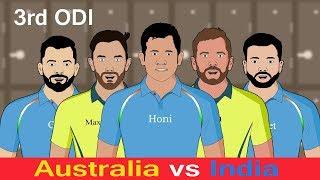 Australia vs India 3rd Odi 2019