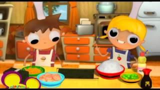Telmo y Tula - Recetas Cocina - Makis vegetales