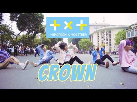 [KPOP IN PUBLIC CHALLENGE] TXT (투모로우바이투게더) 'CROWN' Dance Cover By M.S Crew From Vietnam
