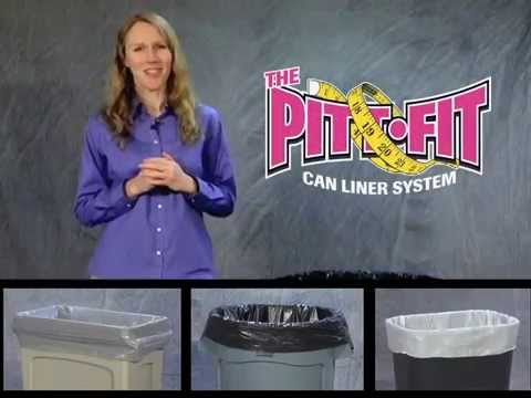 The Pitt Fit Can Liner System saves time, money and plastic. Find the perfect can liner for the most typical and popular trash receptacles. Pitt Plastics is an Inteplast Group Company.