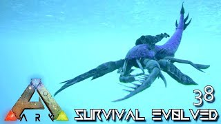 ARK: SURVIVAL EVOLVED - NEW EURYPTERID TRILOBITE & OTTER RIDEABLE TAMES !!! E38 (MOD PUGNACIA DINOS)