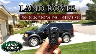 Learn how to raise and lower your Land Rover with your key fob - You will love this feature