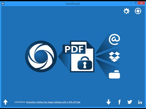 Scan to PDF in less than a minute