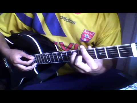 Como Tocar (Mi Corazon Encantado ) De Dragon Ball Gt Guitarra Tutorial