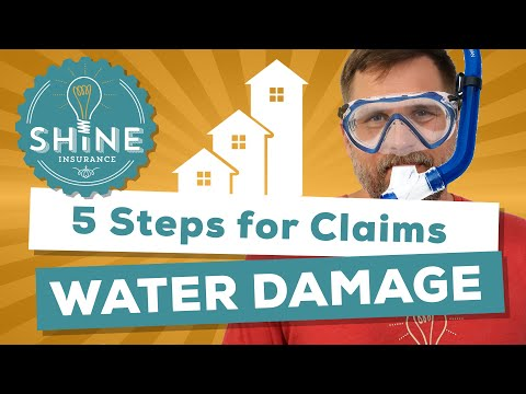 Water Damage Claim: A 5 Step Overview