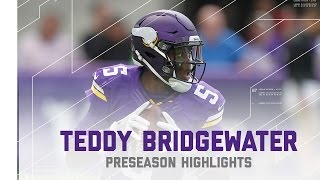 Teddy Bridgewater Highlights | Chargers vs. Vikings | NFL