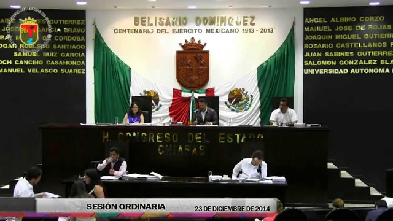 Sesión Ordinaria de 23 de Diciembre del 2014