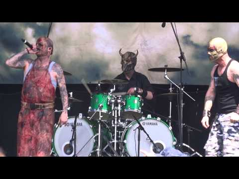 Mushroomhead - Born Of Desire - Sydney Soundwave 23rd FEB 2014