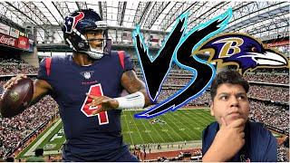 Houston Texans VS Baltimore Ravens week 2 predictions!! A MUST WIN!!!
