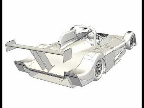 TotalSim   Sculptor Deformation of a Sportscar   www.totalsimulation.co.uk