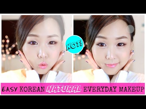 Easy Korean Natural Everyday Makeup 데일리 네추럴 화장법
