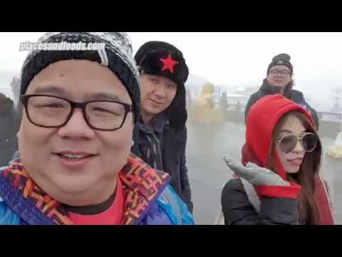Mount Emei and Jinding Sichuan China in Winter