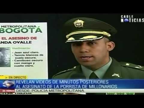 Policia revela videos del asesino de la porrista de Millonarios