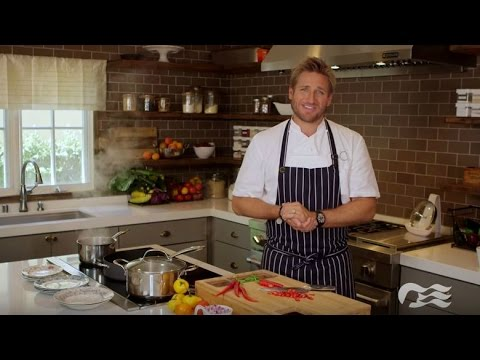 Click to view video message from Chef Curtis Stone about Princess Cruises partnership.