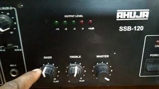 Ahuja 250 watt amp - SANTY DJ SOUND
