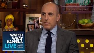 Matt Lauer And Savannah Guthrie On Donald Trump Interviews   WWHL