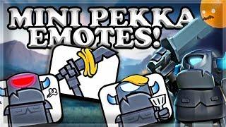 BEST Way to Finishing Mini PEKKA Quest & NEW EMOTES 🍊
