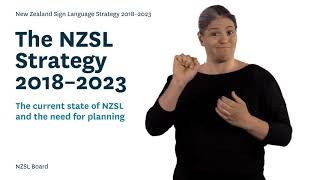 The current state of NZSL and the need for planning