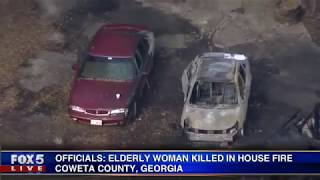 Elderly grandmother killed in house fire