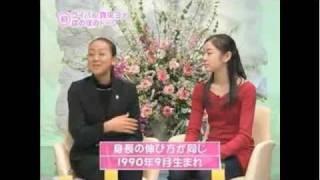 Mao Asada & Yu-Na Kim Interview 2007 Japanese Show Pt 1