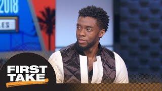 First Take interviews Black Panther star Chadwick Boseman | First Take | ESPN