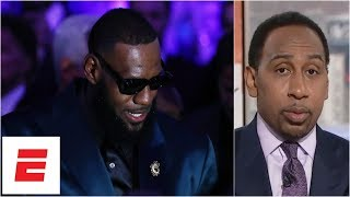Stephen A.: LeBron James will do better in new 'Space Jam' than Michael Jordan did | ESPN Voices