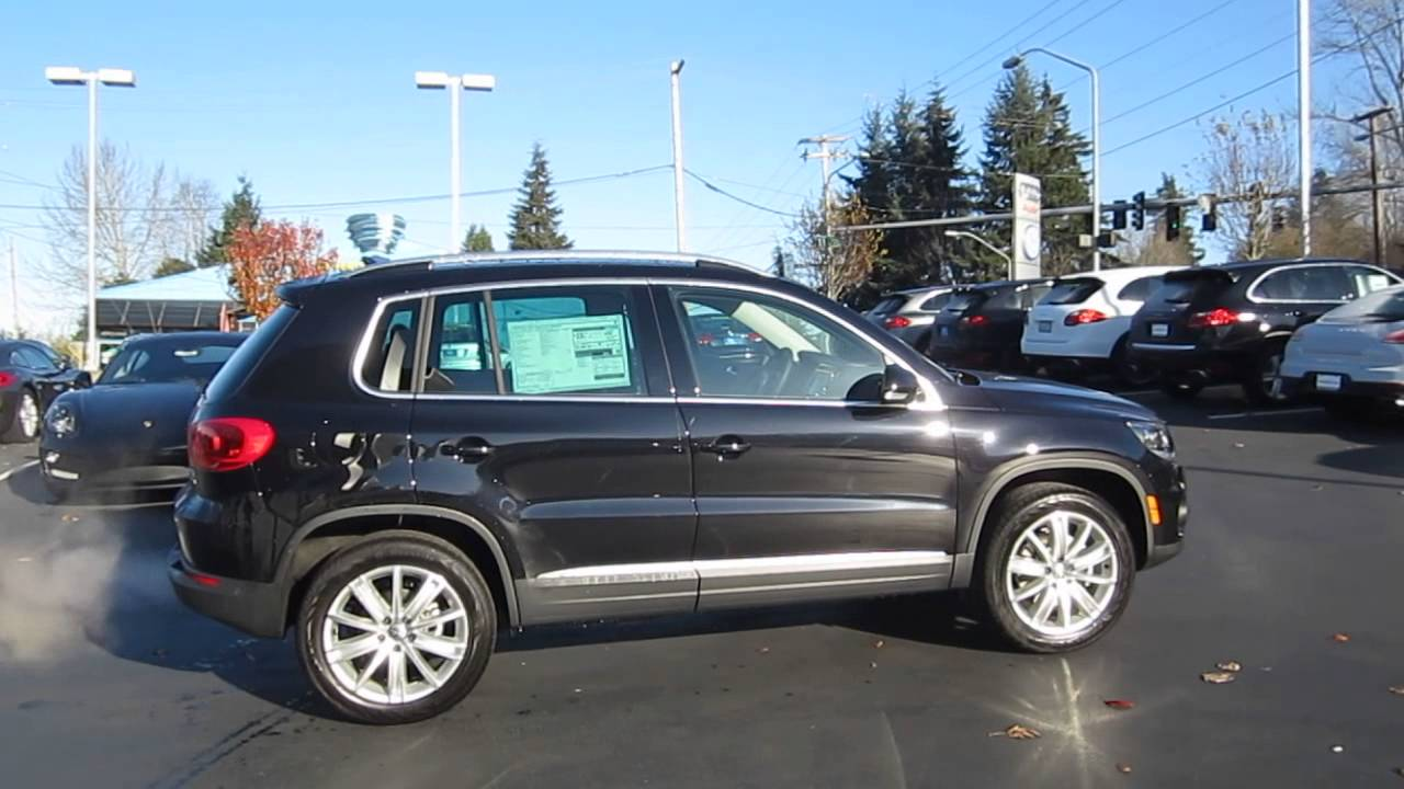 2014 Volkswagen Tiguan, Deep Black - STOCK# 109661 - Walk ...