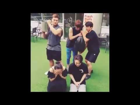 SHINee Ice Bucket Challenge Compilation [Jonghyun,Taemin,Minho,Key]