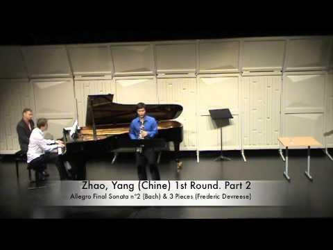 Zhao, Yang Chine 1st Round Part 2