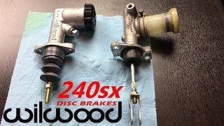 240sx Wilwood Clutch Master Cylinder Install - LS1 240sx (S14) Drift Build (EP 30)