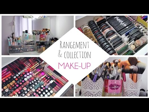 make up rangement diy comment cr er une coiffeuse sur. Black Bedroom Furniture Sets. Home Design Ideas