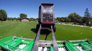 On The Job - Driving Range Attendant - July 2016