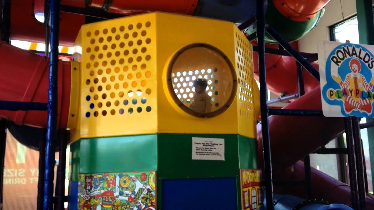 Mcdonald S Play Place Youtube