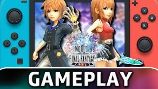 World of Final Fantasy Maxima   First 40 Minutes on Switch