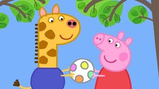 Peppa Pig English Episodes in 4K | Gerald Giraffe! | 1 Hour | Cartoons for Children #169