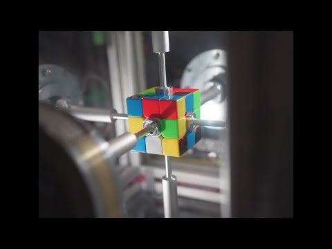This Rubik's Cube Was Solved In 0.38 Seconds!