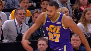 Rudy Gobert ejected from game | Jazz vs Rockets