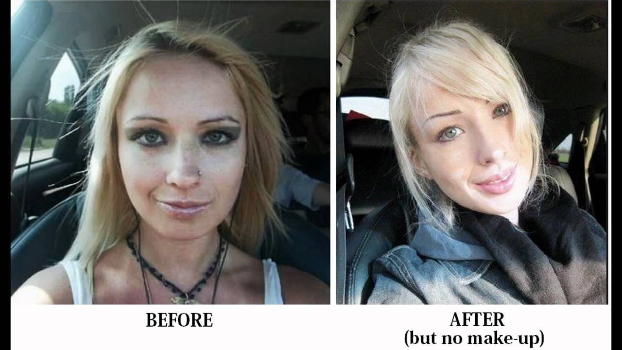 BEFORE and AFTER Valeria Lukyanova - YouTube