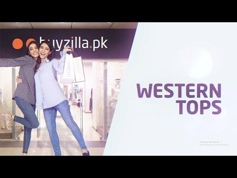 Western Wear for Women - Ready To Wear Western Women's Tops - BuyZilla.pk