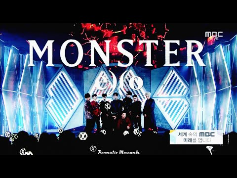 EXO(엑소) - MONSTER(몬스터) `FINAL` 교차편집 [Live Compilation/Stage Mix] 1080p/60fps