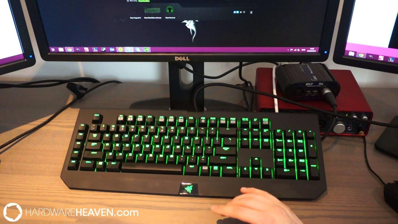 Razer BlackWidow Ultimate 2014 Review - With new Razer mechanical keys - YouTube