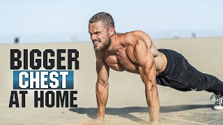 Most Effective CHEST Workout at HOME (NO EQUIPMENT NEEDED)