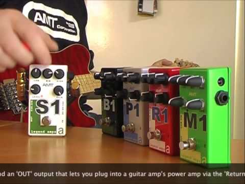 AMT Electronics: S1 preamp - CAB SIM demo