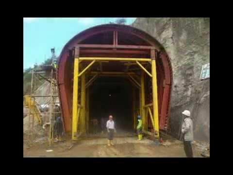 Encofrados Bagant para Túnel, Puente, Columna, Canal, Bordillo.